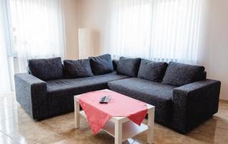 Ferienwohnung Westerwald Straßenhaus Wohnzimmer